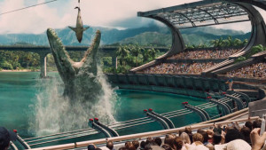 Jurassic World mosasaur